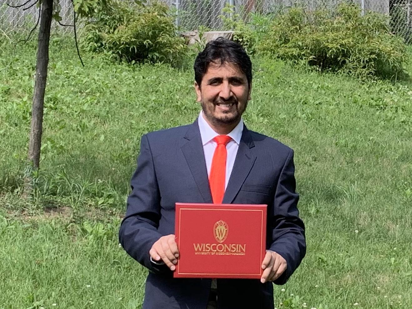 Abdullah Graduation