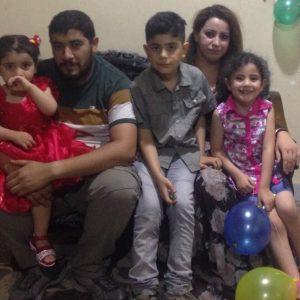 Rasha and family